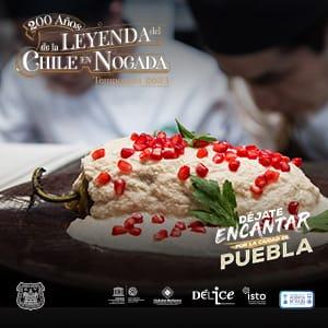 200 años del Chile en Nogada