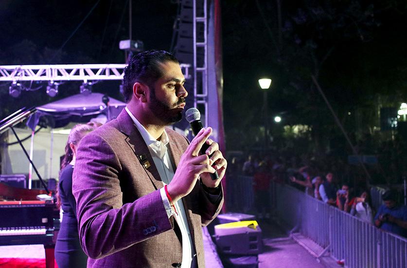 Clausura Raúl Di Blasio el Festival Internacional de Tehuacán