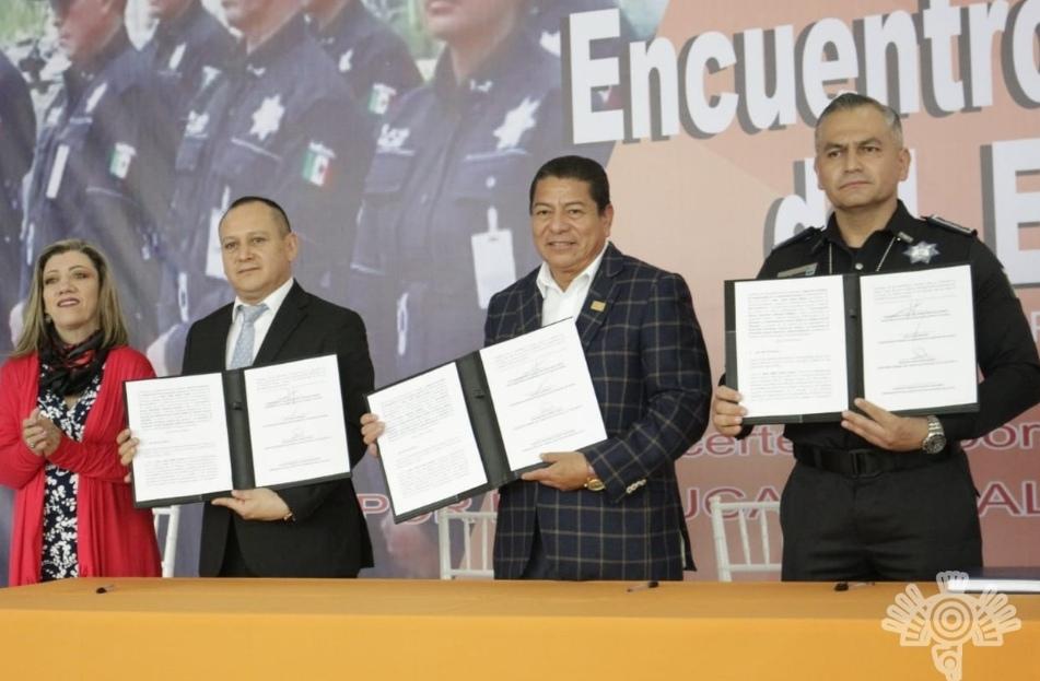 FIRMA SSP CONVENIO DE SEGURIDAD CON EL SNTE 51