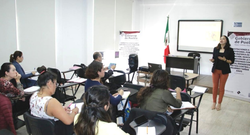 BRINDA SEGOB CAPACITACIÓN ESPECIALIZADA A PERSONAL DE LA FGE PARA EL COMBATE A LA TRATA DE PERSONAS
