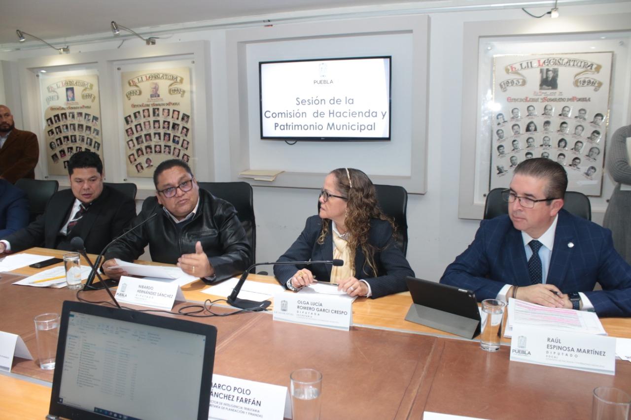 CONGRESO APRUEBA EN COMISIÓN , LEY DE INGRESOS DEL ESTADO DE PUEBLA