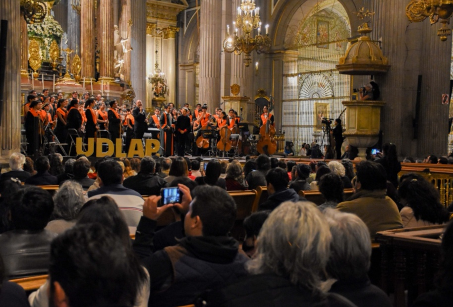 UDLAP PRESENTA SU TRADICIONAL CONCIERTO NAVIDEÑO EN LA CATEDRAL BASÍLICA DE PUEBLA