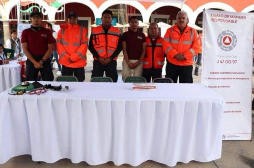 INICIARÁ PROTECCIÓN CIVIL DE SAN PEDRO CHOLULA OPERATIVO PARA EVITAR RIESGOS POR USO DE PIROTECNIA