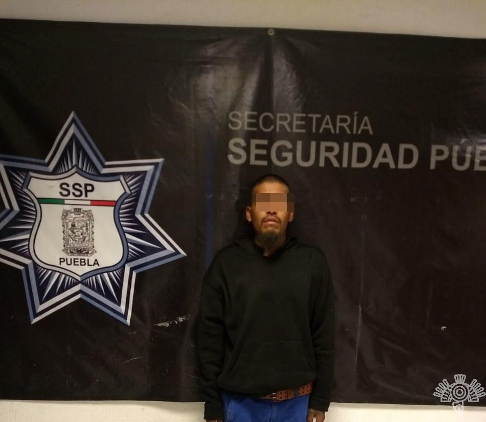 CAPTURA SSP A HOMBRE POR PORTAR ARMA DE FUEGO