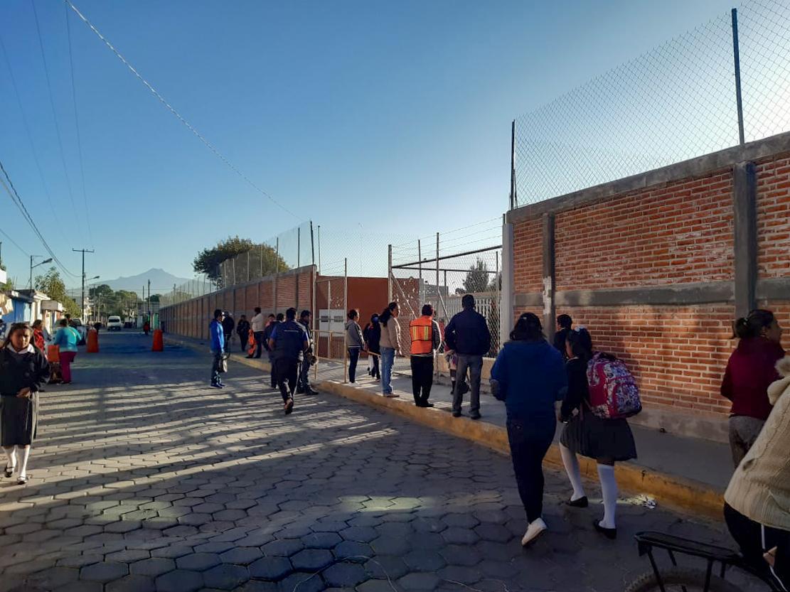 CUAUTLANCINGO REFUERZA SEGURIDAD PÚBLICA EL PROGRAMA MI ESCUELA SEGURA