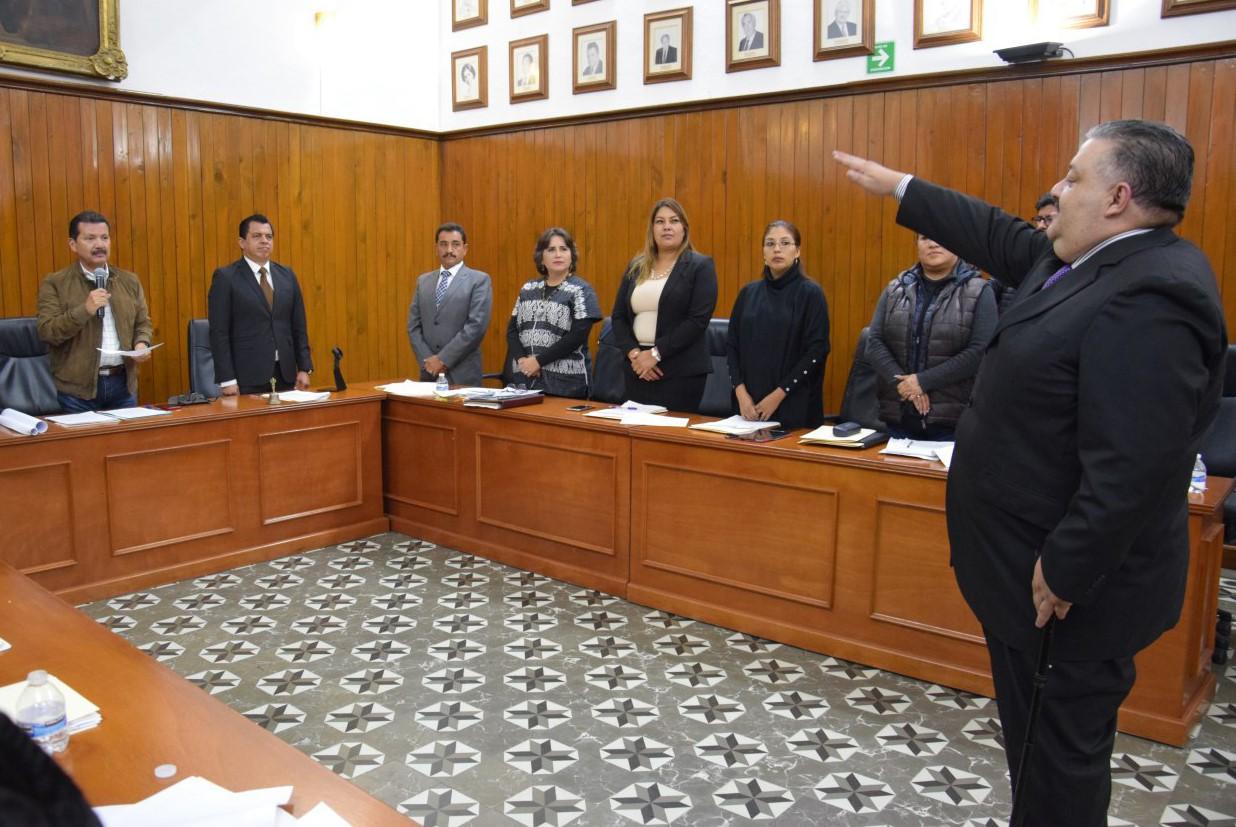 APRUEBA CABILDO DE SAN PEDRO CHOLULA AUMENTO SALARIAL A POLICÍAS Y NOMBRA AL NUEVO CONTRALOR