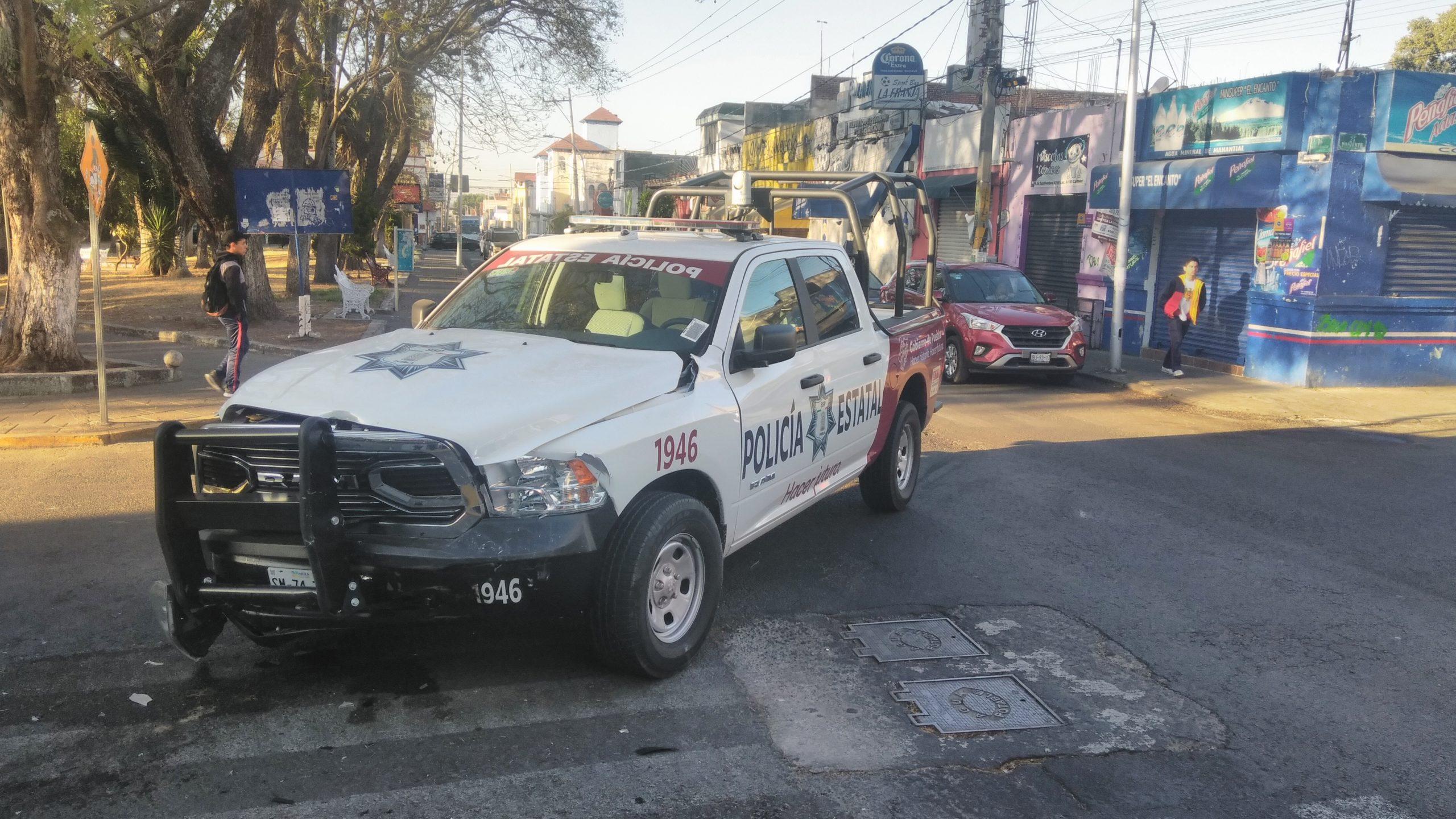 PATRULLAS DE LA POLICÍA ESTATAL PROTAGONIZARON APARATOSOS ACCIDENTES ESTE MARTES