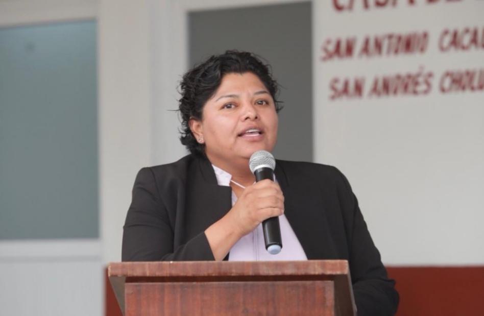 PROTOCOLO DE CONSULTA INDÍGENA , UN TRABAJO DE LAS COMUNIDADES : KARINA PÉREZ POPOCA
