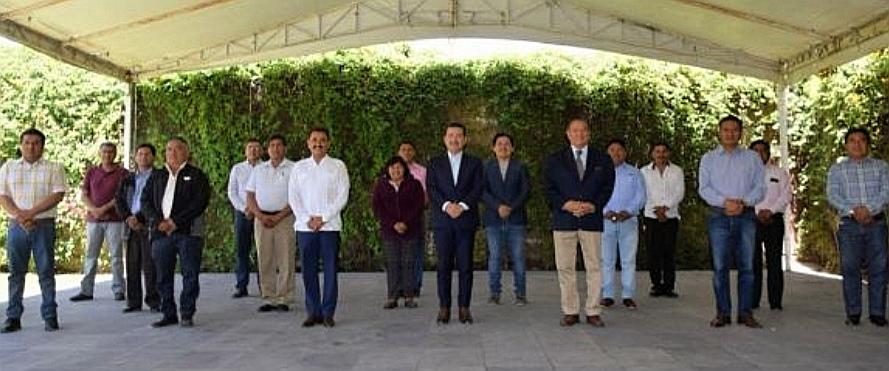 APOYA GOBIERNO DE SAN PEDRO CHOLULA A GRUPOS VULNERABLES DE JUNTAS AUXILIARES ANTE COVID -19