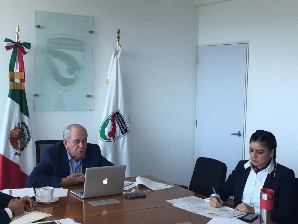 CONSOLIDA RIVERA VIVANCO COORDINACIÓN INTERINSTITUCIONAL CON SECRETARÍA DE SEGURIDAD PÚBLICA FEDERAL