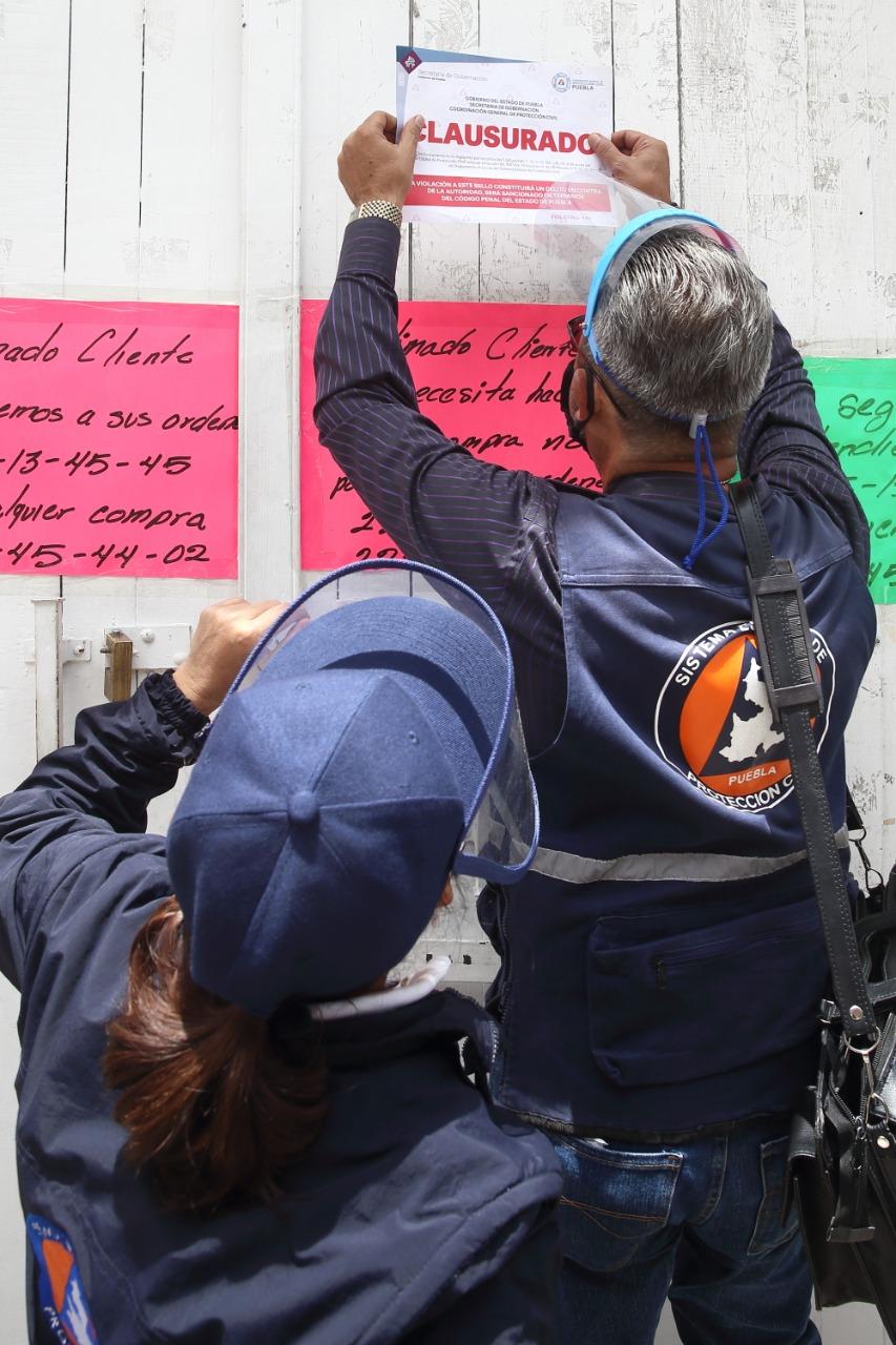 VERIFICA PROTECCIÓN CIVIL CUMPLIMIENTO DE MEDIDAS SANITARIAS EN COMERCIOS