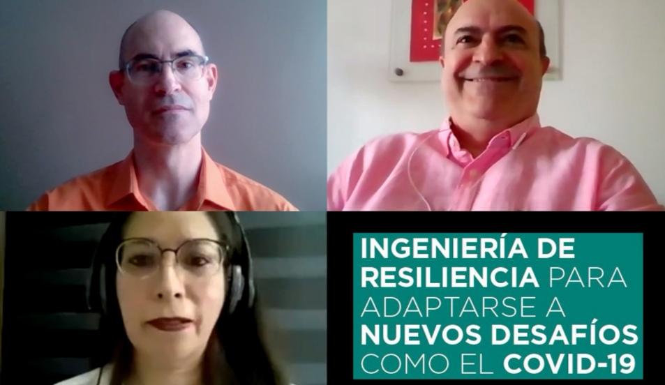 INGENIERÍA DE RESILIENCIA , IMPORTANTE PARA LA ADAPTACIÓN A DESAFÍOS COMO EL COVID-19