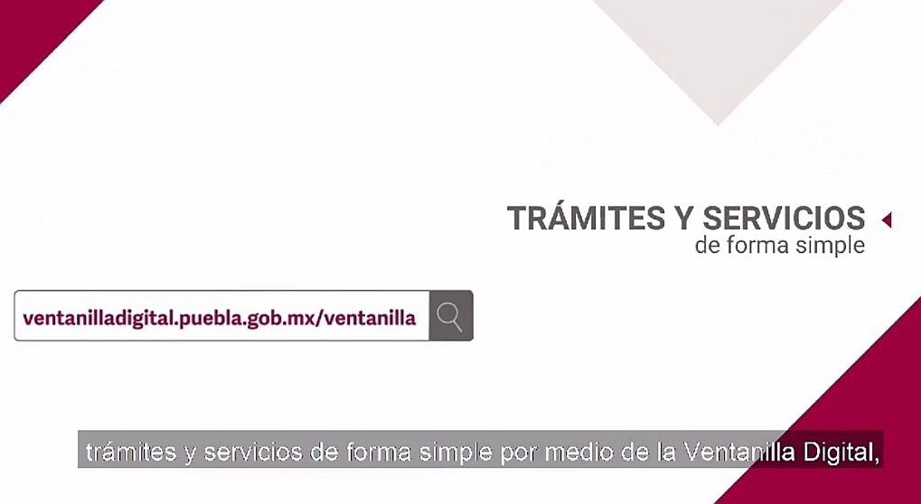 CON VENTANILLA DIGITAL , GOBIERNO SIMPLIFICA TRÁMITES Y SERVICIOS