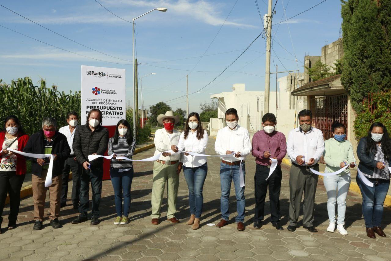 GOBIERNO DE LA CIUDAD REHABILITA 1.7 KILÓMETROS DE VIALIDADES EN XONACATEPEC