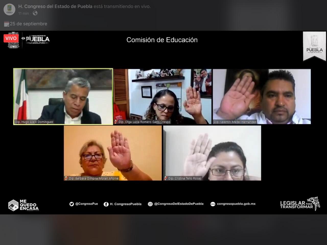 PIDE COMISIÓN DEL CONGRESO DEL ESTADO A SEP VIGILAR CUMPLIMIENTO DE PROGRAMA DE ATENCIÓN SOCIOEMOCIONAL